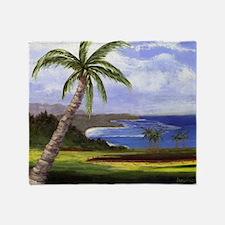 Beautiful Kauai Throw Blanket