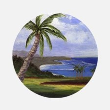 Beautiful Kauai Ornament (Round)