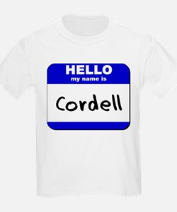 hello my name is cordell T-Shirt