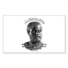 Aristotle 01 Rectangle Decal