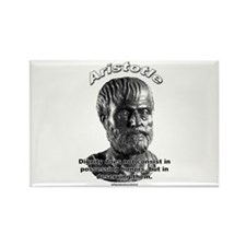 Aristotle 01 Rectangle Magnet