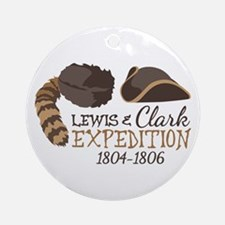 Lewis and Clark Expedition Ornament (Round)