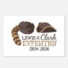 Lewis and Clark Expedition Postcards (Package of 8