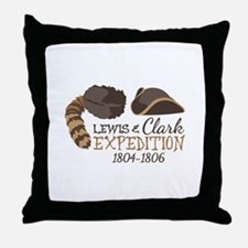 Lewis and Clark Expedition Throw Pillow