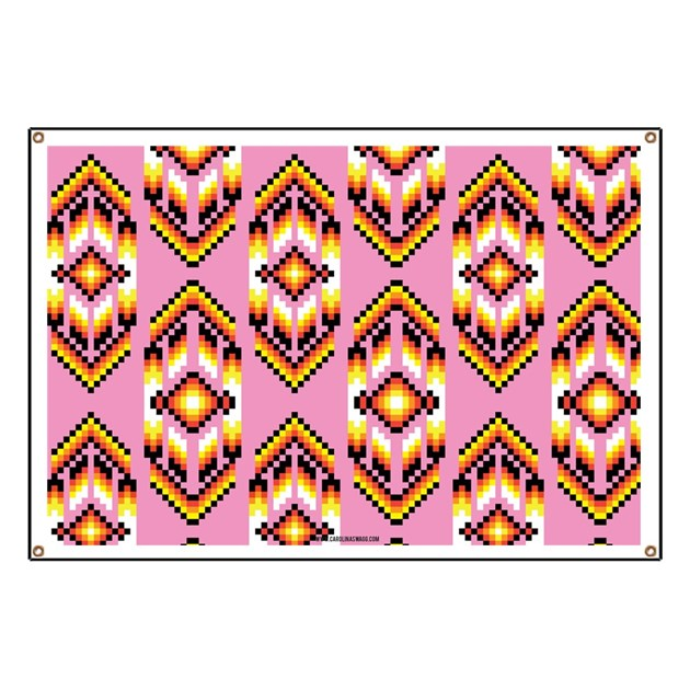 Native American Design Pink Banner By Admin Cp1484747