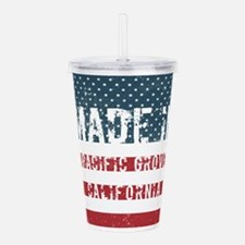 Made in Pacific Grove, Acrylic Double-wall Tumbler