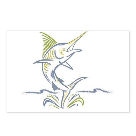 marlin ile maurice Postcards (Package of 8)