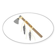 Native American Tomahawk Decal