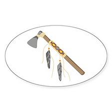 Native American Tomahawk Decal