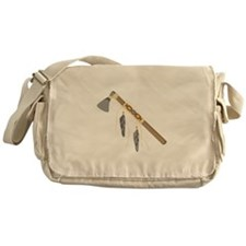 Native American Tomahawk Messenger Bag