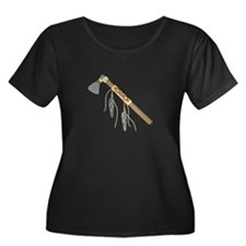 Native American Tomahawk Plus Size T-Shirt