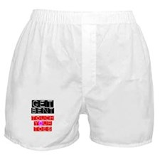 GET BENT - TOUCH YOUR TOES Boxer Shorts