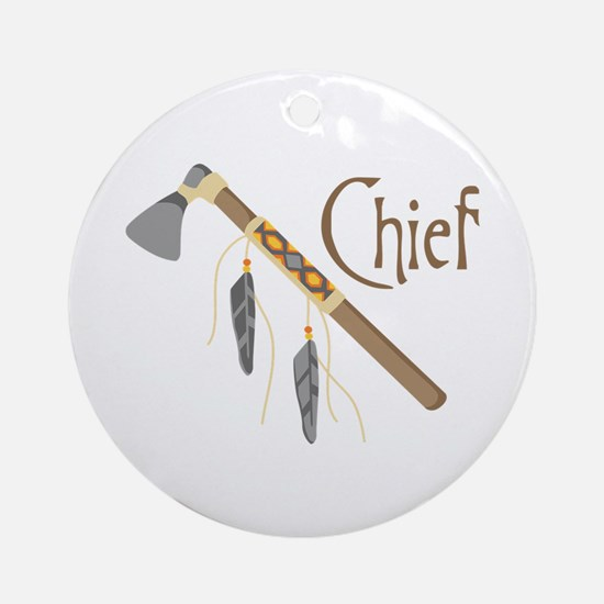 Chief Ornament (Round)