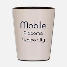 Mobile, Alabama - Azalea City 1 Shot Glass