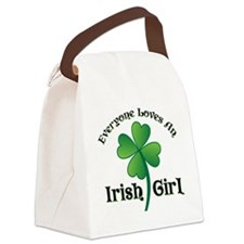 EVERYONE LOVES... Canvas Lunch Bag