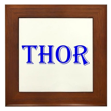 The Thor Two Store Framed Tile