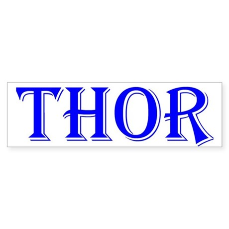 The Thor Two Store Bumper Sticker