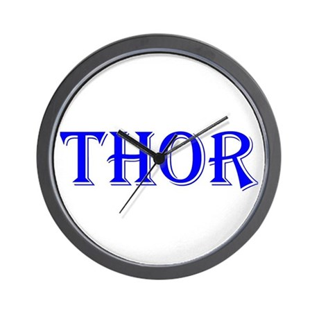 The Thor Two Store Wall Clock