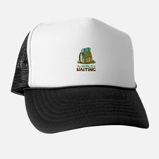 The World is Waiting Trucker Hat
