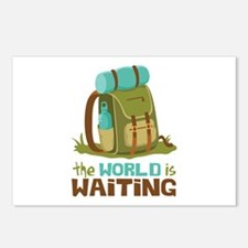 The World is Waiting Postcards (Package of 8)