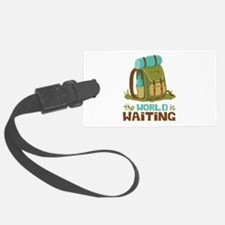 The World is Waiting Luggage Tag