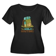 The World is Waiting Plus Size T-Shirt