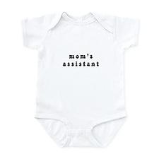 mom's assistant Infant Bodysuit
