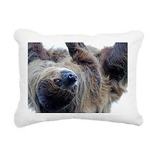 Sloth Rectangular Canvas Pillow