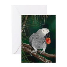 Greys in the Wild Greeting Card