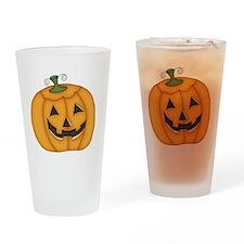 HALLOWEEN PUMPKIN DESIGN Drinking Glass