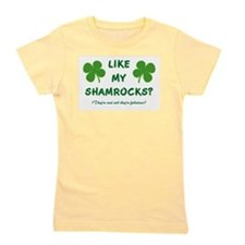 LIKE MY SHAMROCKS? Girl's Tee