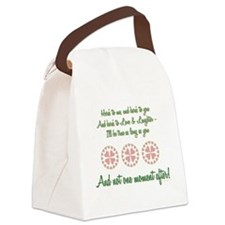 HERES TO ME... Canvas Lunch Bag