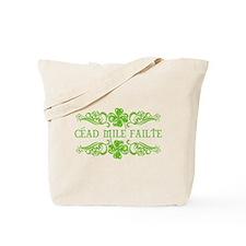 CEAD MILE FAILTE Tote Bag