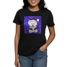 Westie in Snow T-Shirt