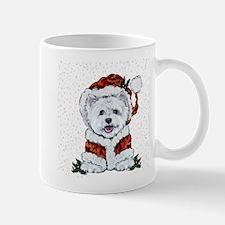 Santas Westie Helper Mugs