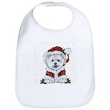 Santas Westie Helper Bib