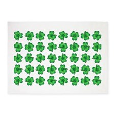 CLOVERS 5'x7'Area Rug