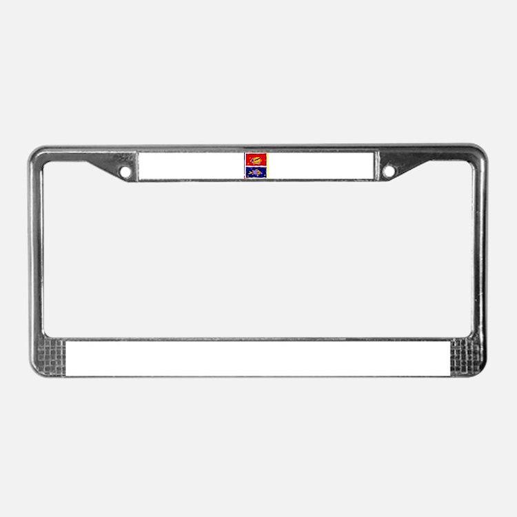 Corsica paradisu License Plate Frame