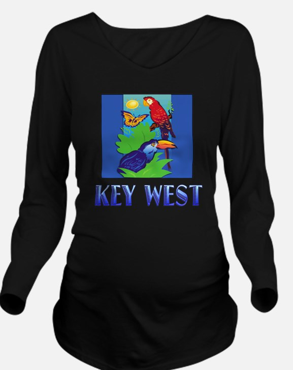 Macaw, Parrot, Butte Long Sleeve Maternity T-Shirt