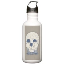 illu-skull-913-STKR Water Bottle