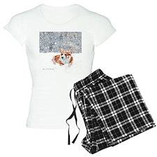Corgi Winter Snow Pajamas