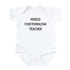FUNCTIONALISM teacher Infant Bodysuit
