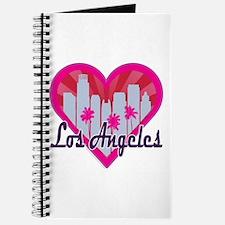 LA Skyline Sunburst Heart Journal