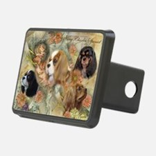 Cavalier King Charles Span Hitch Cover