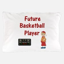 Basketball Player (red) Pillow Case