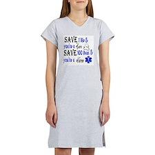 Nurse, Save Women's Nightshirt