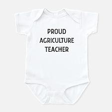 AGRICULTURE teacher Infant Bodysuit