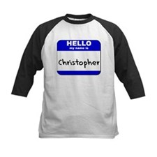 hello my name is christopher Tee