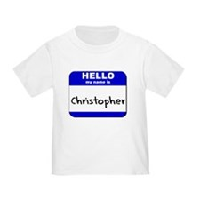 hello my name is christopher T