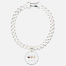 Wine Glasses Bracelet